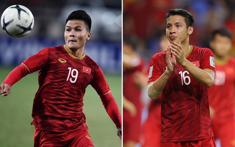 Quang Hải và Hùng Dũng đang là những ứng viên hàng đầu cho danh hiệu Quả bóng Vàng Việt Nam 2019.