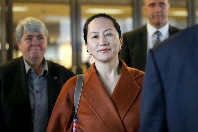 Giám đốc tài chính Huawei Mạnh Vãn Chu
