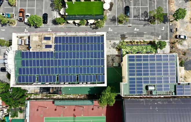 Phát triển điện mặt trời trên mái nhà ở Quảng Bình.