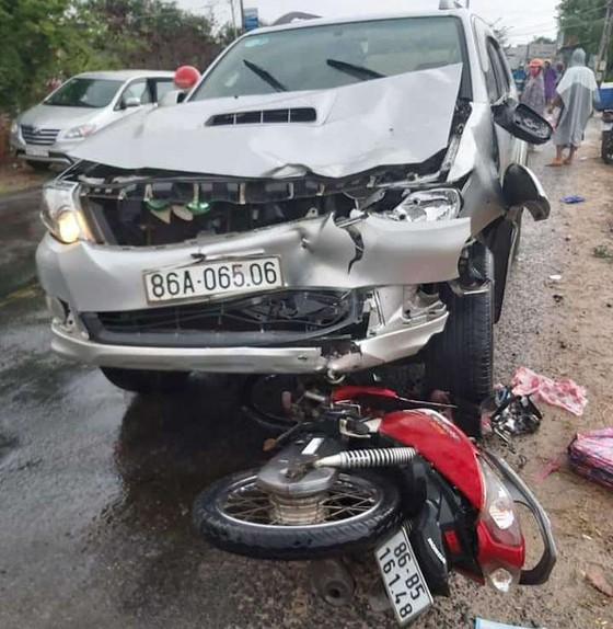 Hiện trường vụ tai nạn nghiêm trọng.