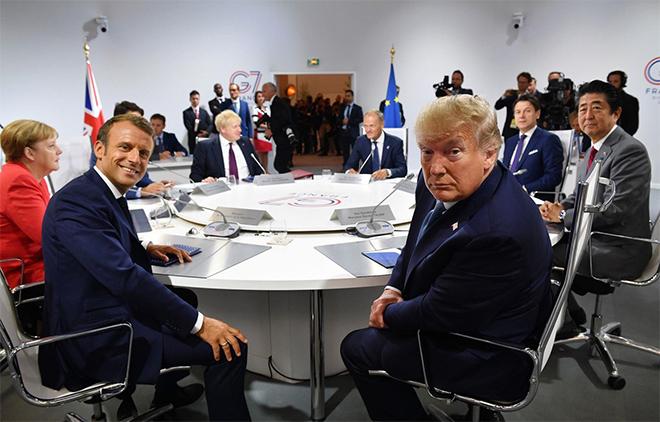 Lãnh đạo các nước tham dự hội nghị thượng đỉnh G7 năm 2019.