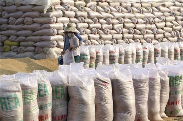 Vietnam's rice exports reach US$3.07 billion in 2020.