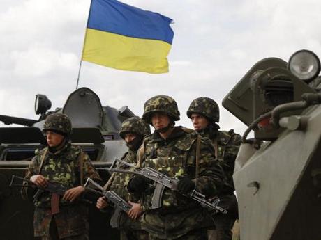 Lực lượng binh sỹ Ukraine.
