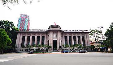 Trụ sở Ngân hàng Nhà nước tại Hà Nội.