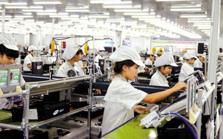 Kim ngạch xuất khẩu của khối doanh nghiệp FDI vẫn chiếm tỷ trọng lớn.