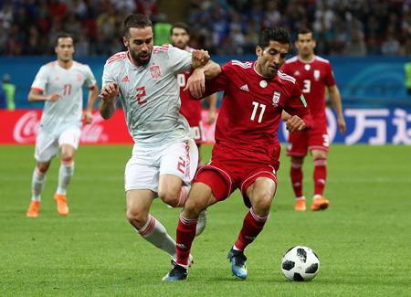 Tây Ban Nha có thể sẽ phải cạnh tranh hiệu số với Iran nếu thua Morocco.