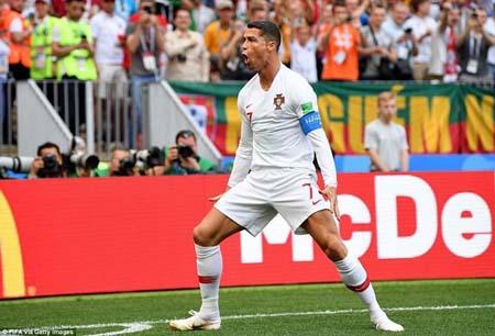 Ronaldo đã có 85 bàn cho đội tuyển Tây Ban Nha.
