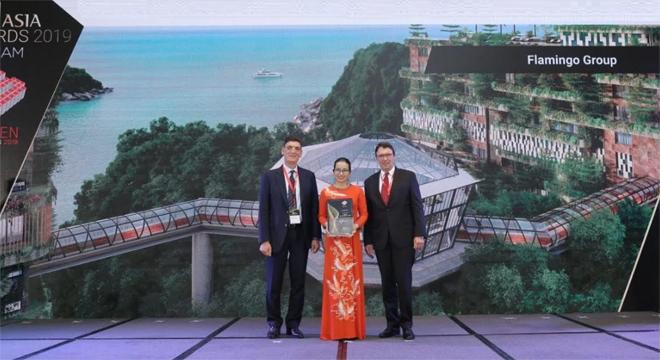 """Tập đoàn Flamingo được chứng nhận """"Top 10 Nhà phát triển Bất động sản tốt nhất 2019"""" tại BCI Asia Award 2019"""