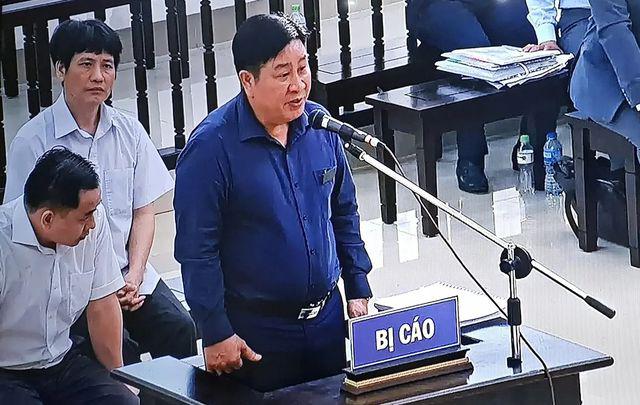 Ông Bùi Văn Thành tại tòa.