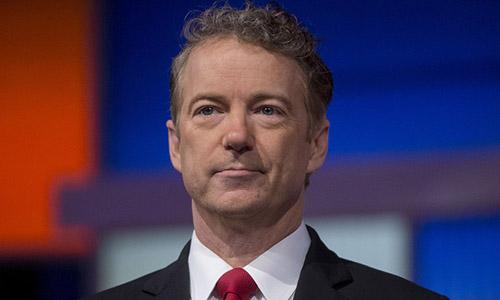 Thượng nghị sĩ đảng Cộng hòa Rand Paul, đại diện bang Kentucky, Mỹ.