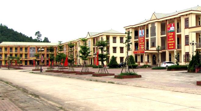 Trường Cao đẳng Nghề Yên Bái được đầu tư xây dựng khang trang.