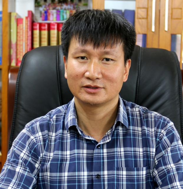 Đồng chí Trần Huy Tuấn - Bí thư Huyện ủy Văn Yên.