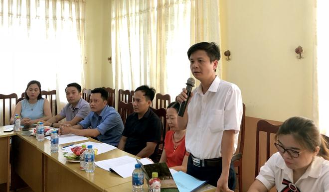 Đại biểu dự hội thảo tham gia vào dự thảo chính sách bảo vệ trẻ em tại vùng triển khai dự án của YENBAI CDSH.
