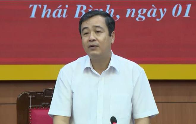 Ông Ngô Đông Hải, tân Bí thư Tỉnh ủy Thái Bình.