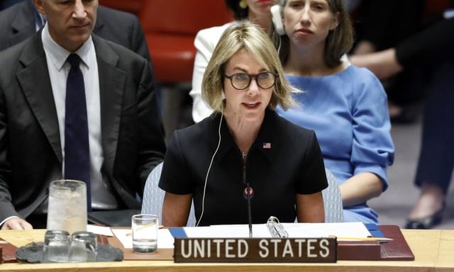 Đại sứ Mỹ tại Liên Hợp Quốc Kelly Craft (Ảnh: Bộ Ngoại giao Mỹ)