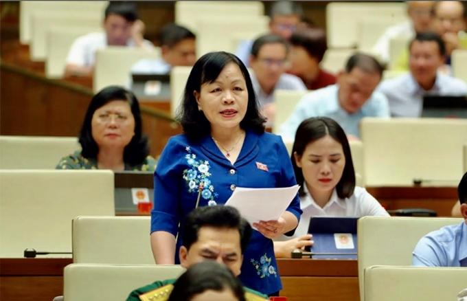 Đại biểu Nguyễn Thị Mai Hoa (Đồng Tháp).