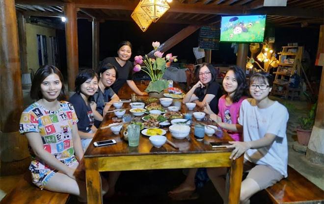 Xoi Farmstay, xã Lâm Thượng - điểm đến hấp dẫn đông đảo du khách trong và ngoài nước.