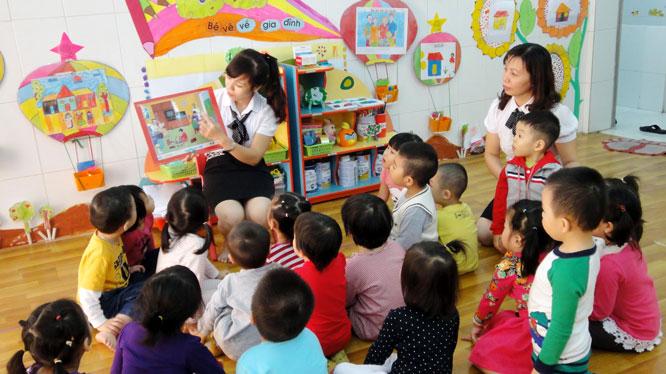 Bộ Giáo dục và Đào tạo đặt kế hoạch tiến tới phổ cập giáo dục mầm non cho trẻ em dưới 5 tuổi (nguồn internet)