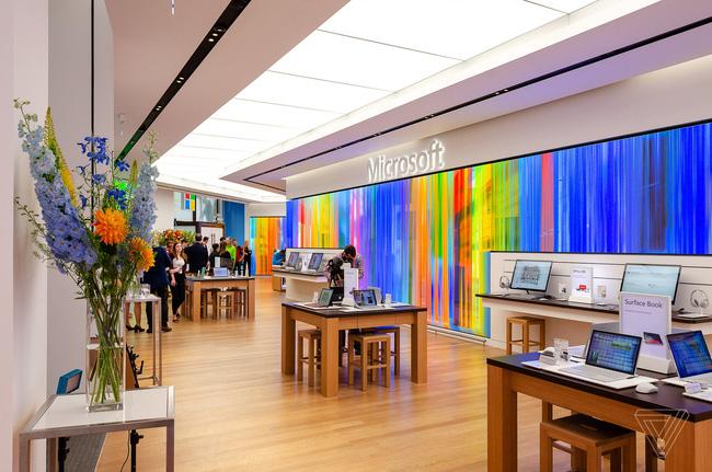 Cửa hàng của Microsoft tại London.