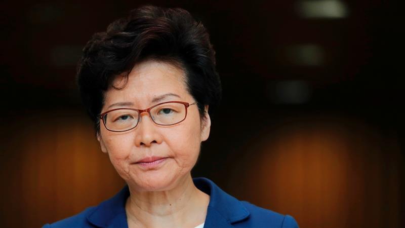 Trưởng đặc khu Hong Kong Lâm Trịnh Nguyệt Nga.