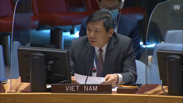 Ambassador Dang Dinh Quy, head of the Vietnamese Mission to the United Nations (UN), emphasised the need to build trust among the parties to accelerate the political process in Syria.