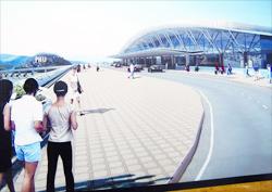 Phối cảnh cảng hàng không quốc tế Phú Quốc