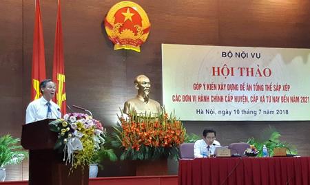 Vụ trưởng Vụ Chính quyền địa phương, Bộ Nội vụ Phan Văn Hùng.