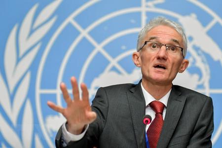 Phó Tổng thư ký LHQ phụ trách các vấn đề về nhân đạo và điều phối cứu trợ khẩn cấp Mark Lowcock.