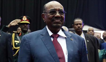 Tổng thống Sudan Omar al-Bashir.
