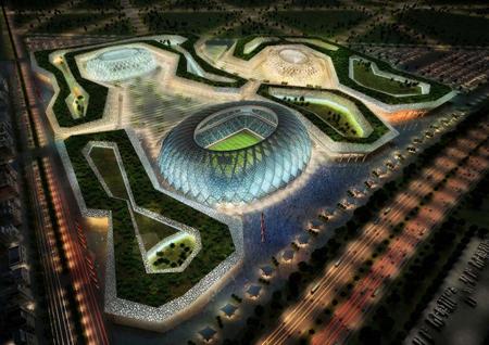 World Cup 2022 ở Qatar sẽ diễn ra vào mùa đông.