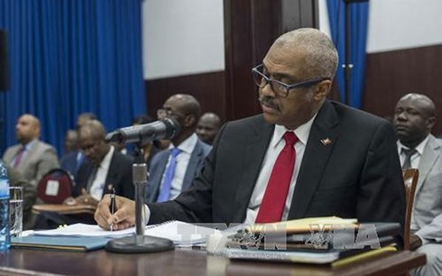 Thủ tướng Haiti Jack Guy Lafontant.