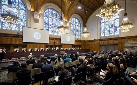 Trụ sở Tòa Công lý Quốc tế.