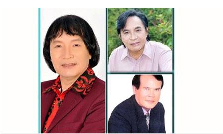3 nghệ sĩ gạo cội không đủ số phiếu của hội đồng là Minh Vương, Thanh Tuấn, Giang Châu.