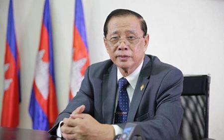 Người phát ngôn Đảng Nhân dân Campuchia (CPP) ông Sok Eysan.