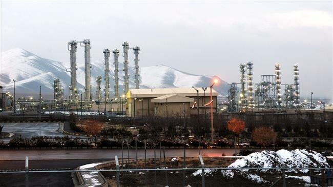 Lò phản ứng hạt nhân Arak của Iran.