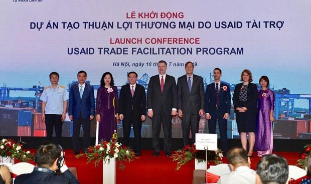 Dự án tạo thuận lợi thương mại đã chính thức được khởi động ngày 10/7.
