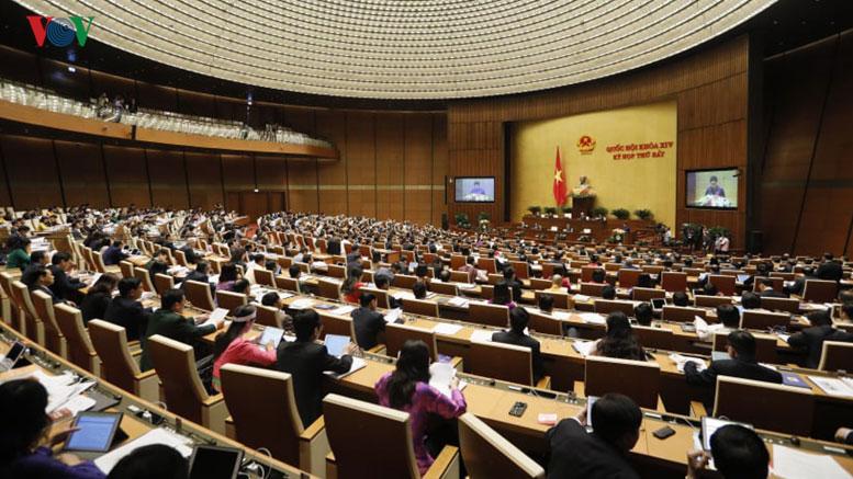 Toàn cảnh kỳ họp thứ 7, Quốc hội khóa XIV.