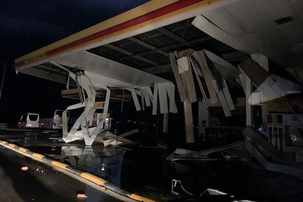 Trận bão dữ dội khiến nhiều du khách nước ngoài thiệt mạng.