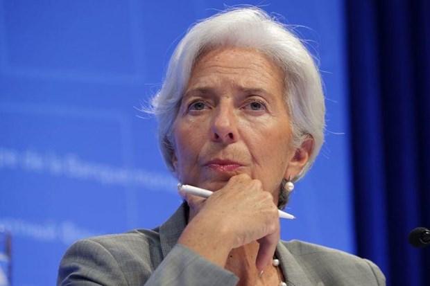 Bà Christine Lagarde đệ đơn từ chức.