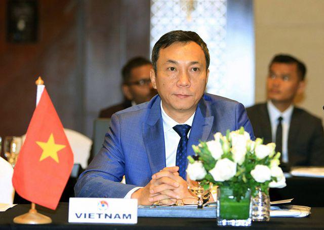 Ông Trần Quốc Tuấn - Phó tổng thư ký Liên đoàn bóng đá Việt Nam.