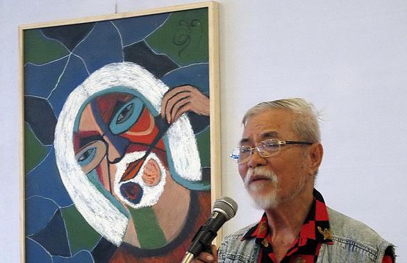 Nhà thơ, hoạ sĩ Phan Vũ (1926-2019).