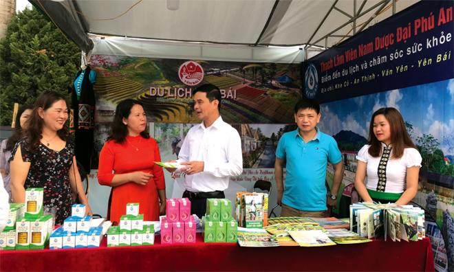 Thời gian qua, việc xúc tiến thương mại hỗ trợ doanh nghiệp đã được tỉnh Yên Bái quan tâm.