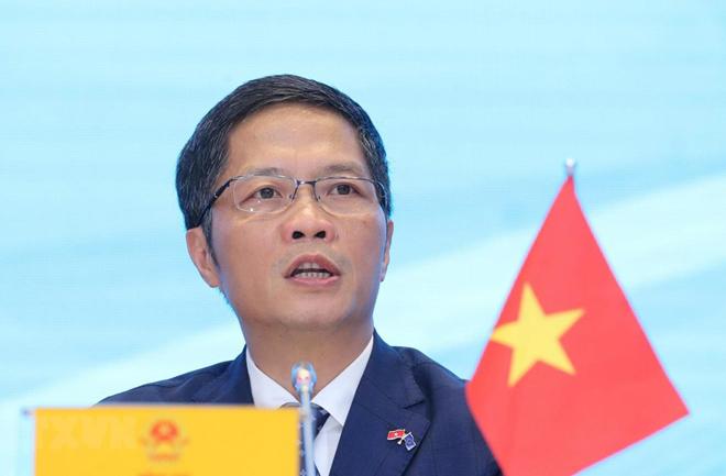 Bộ trưởng Bộ Công thương Trần Tuấn Anh.