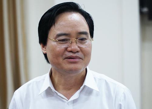Bộ trưởng Phùng Xuân Nhạ phát biểu tại hội nghị giao ban công tác khoa giáo sáng 18/7.