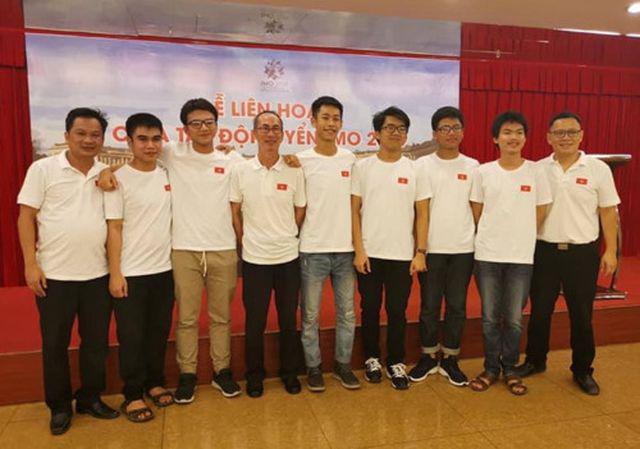 Đội tuyển Việt Nam dự thi IMO 2019