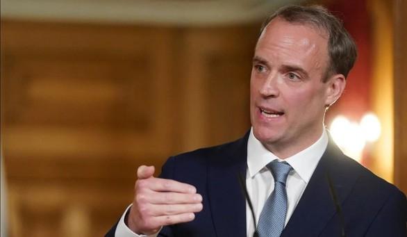 Ngoại trưởng Anh Dominic Raab nói nước Anh