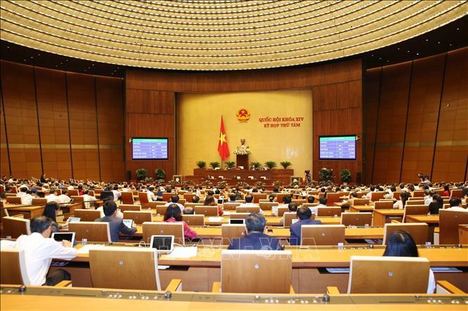 Chiều 25/12/2019, Quốc hội thông qua toàn văn Luật sửa đổi, bổ sung một số điều của Luật Nhập cảnh, xuất cảnh, quá cảnh, cư trú của người nước ngoài tại Việt Nam.