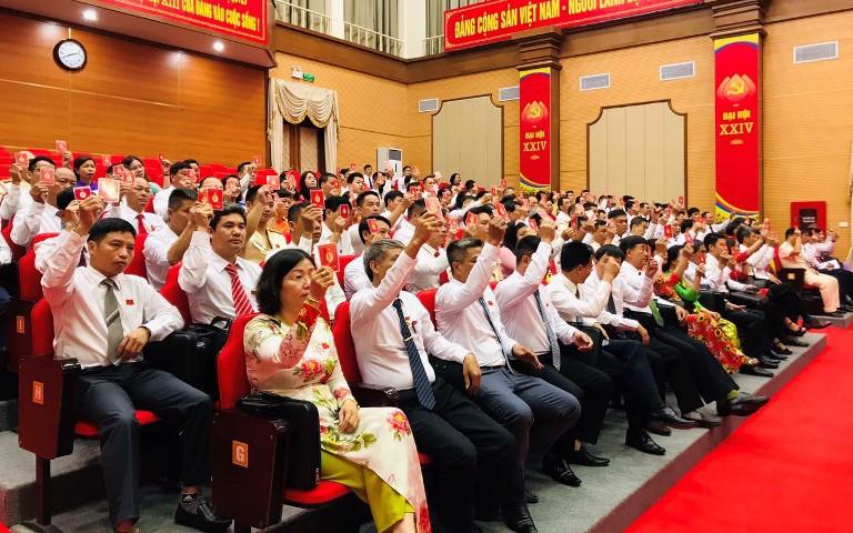 Đại hội Đại biểu Đảng bộ huyện Thanh Trì  (TP Hà Nội) nhiệm kỳ 2020-2025