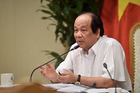 Bộ trưởng, Chủ nhiệm VPCP phát biểu tại cuộc họp