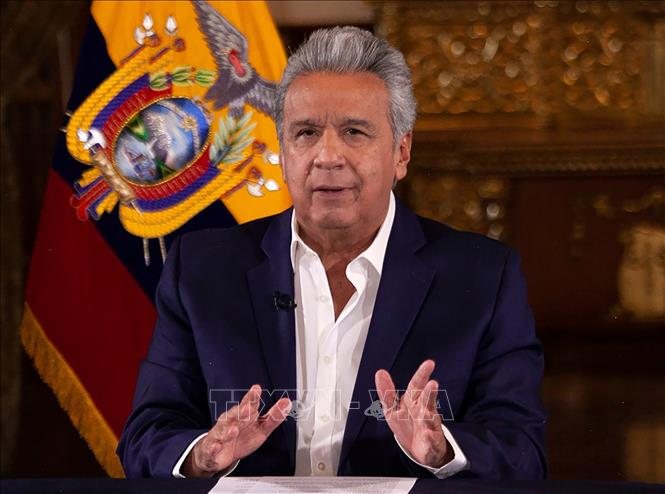 Tổng thống Ecuador Lenin Moreno.